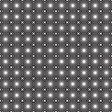 Abstraktes nahtloses Schwarzweiss-Muster Lizenzfreies Stockbild