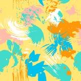 Abstraktes nahtloses vektormuster Stockfotografie