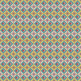 Abstraktes nahtloses Vektormuster in der ägyptischen Art Lizenzfreies Stockbild