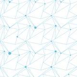 Abstraktes nahtloses Vektormuster, Dreieckstruktur lizenzfreie abbildung