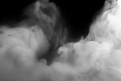 Abstraktes Nebel- oder Rauchverschiebung auf Hintergrund Stockfotografie