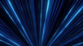 Abstraktes Neongl?hen von Scheinwerferlinien animation Laser-Discolichtshow auf schwarzem Hintergrund Neonlinien sind leuchtend vektor abbildung
