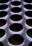 Abstraktes Neonmuster Stockfotos