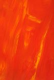 Abstraktes orange Ölgemälde Stockfoto