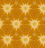 Abstraktes orange nahtloses Muster Stockfotos