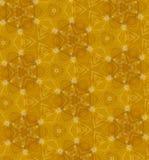 Abstraktes orange nahtloses Muster Stockfotografie
