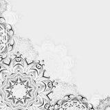 Abstraktes orientalisches Blumen Lizenzfreies Stockbild