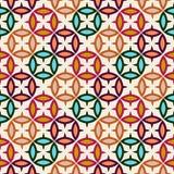Abstraktes orientalisches nahtloses Muster Lizenzfreies Stockbild