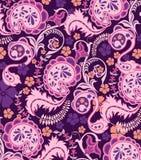 Abstraktes Paisley-Muster Stockfoto