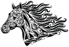 Abstraktes Pferd. Lizenzfreie Stockfotografie