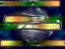 Abstraktes Plastikformular stock abbildung
