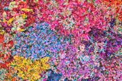 Abstraktes Pointillistölgemälde Lizenzfreies Stockfoto