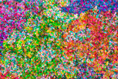 Abstraktes Pointillistölgemälde Stockfotografie