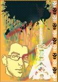 Abstraktes Punk Stockfoto