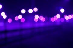 Abstraktes Purpurrotes, rosa, weiß, Blaulichter Lizenzfreies Stockbild