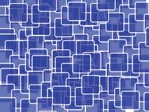 Abstraktes Quadrat Lizenzfreie Stockfotografie