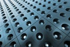 Abstraktes Quadrat- und Kreismuster Stockfotografie