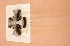 abstraktes Querkirche crenna gallarate Italien Lizenzfreies Stockfoto