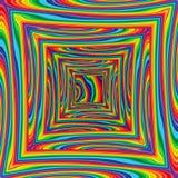 Abstraktes raibow bunter Vektorhintergrund, Kunstmehrfarbenraum Lizenzfreie Stockfotografie