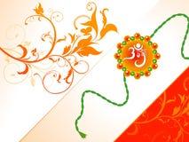 Abstraktes raksha bandhan Hintergrund Lizenzfreies Stockfoto