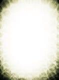 Abstraktes Rand-Gift-Grün Stockfotografie