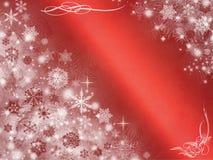 Abstraktes Randfeld, Weihnachtshintergrund Stockfotografie