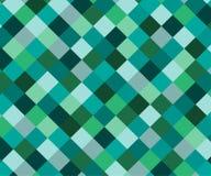Abstraktes Rautenmosaik-Hintergrunddesign Lizenzfreie Stockfotografie