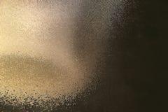 Abstraktes reflektierendes Licht hinter dem Glas Lizenzfreie Stockfotografie