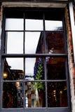 Abstraktes Reflexionssommerrestaurant Lizenzfreies Stockbild