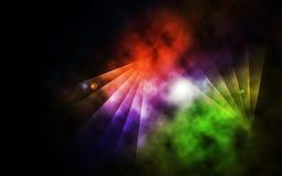 Abstraktes Regenbogen-Platz-Bild Lizenzfreies Stockbild