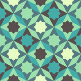 Abstraktes Retro- geometrisches Muster Stockbilder