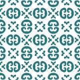 Abstraktes Retro- geometrisches nahtloses Muster für Design Lizenzfreies Stockbild