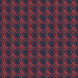 Abstraktes Retro- nahtloses Muster Stockfoto