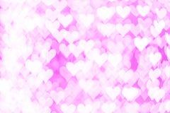 Abstraktes rosa bokeh backround von guten Rutsch ins Neue Jahr oder Weihnachtenlig Lizenzfreies Stockfoto