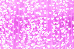 Abstraktes rosa bokeh backround von guten Rutsch ins Neue Jahr oder Weihnachtenlig Stockbild