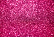 Abstraktes rosa Funkeln für Hintergrund Stockfotos
