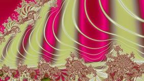 Abstraktes Rosa, Grenadine und beige ganz eigenhändig geschriebe futuristische Beschaffenheit lizenzfreie abbildung