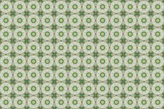 Abstraktes rot- grünes grafisches Muster stockfoto