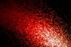 Abstraktes rotes bokeh defocused Hintergrund für Design Stockbild