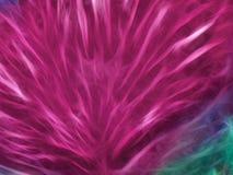 Abstraktes rotes Fractalhintergrundaussehung wie Blume mit diagonalen Linien mit Glühen vektor abbildung