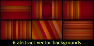 Abstraktes Rechteck formt Hintergrund Stockfotos