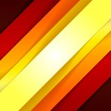 Abstraktes rotes und orange Dreieck formt Hintergrund Lizenzfreie Stockfotos