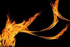 Feuerzusammenfassung Lizenzfreies Stockbild