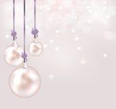 Abstraktes Schönheit Weihnachts- und des neuen Jahreshintergrund. lizenzfreie abbildung