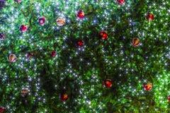 Abstraktes Schönheit Weihnachts- und des neuen Jahreshintergrund Stockfoto