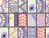 Abstraktes Schalmuster, Schaldesignhintergrund Stockfotos