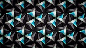 Abstraktes schwarzes blaues Grün und Weiß färbt Mustertapete Stockfoto