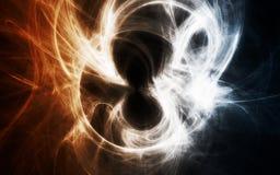 Abstraktes schwarzes Loch vektor abbildung