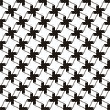 Abstraktes Schwarzweiss-Muster Stockbilder