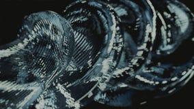 Abstraktes Silber Stockbild